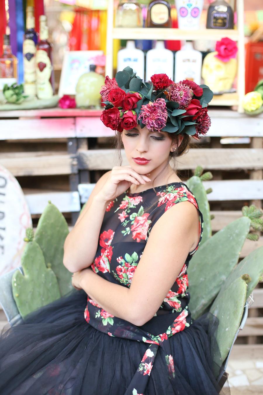 Frida Kahlo Bride | Credit: Hello Love Photography