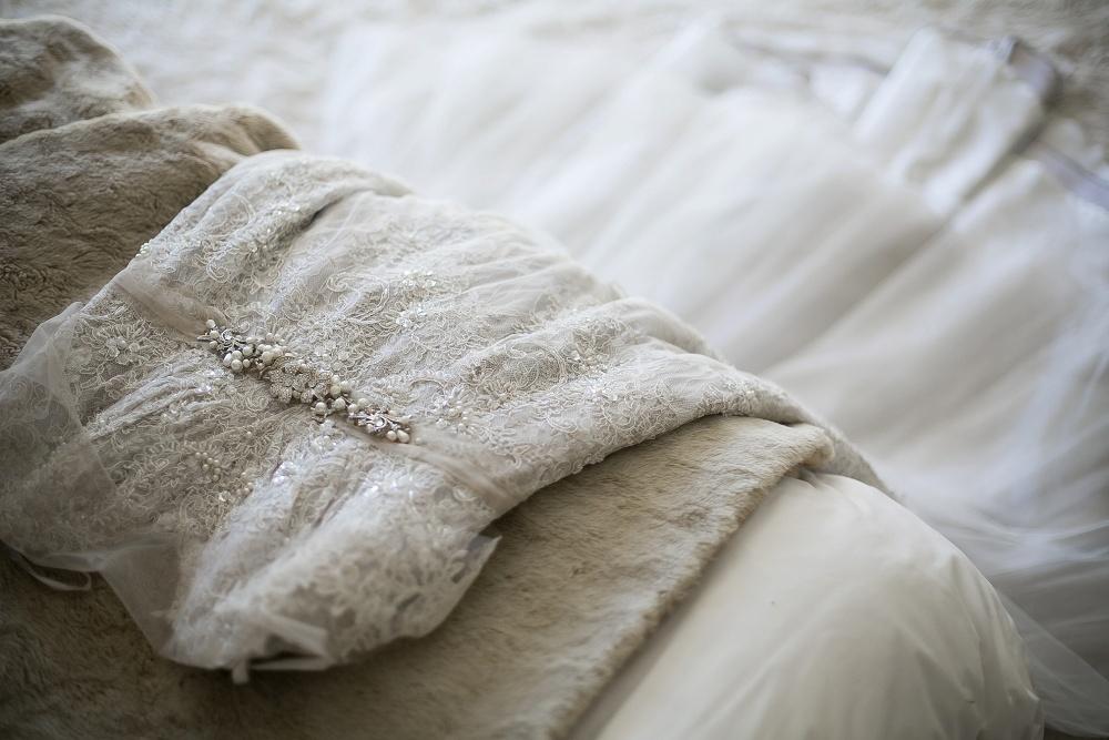 Lace Wedding Dress | Credit: Karina Conradie