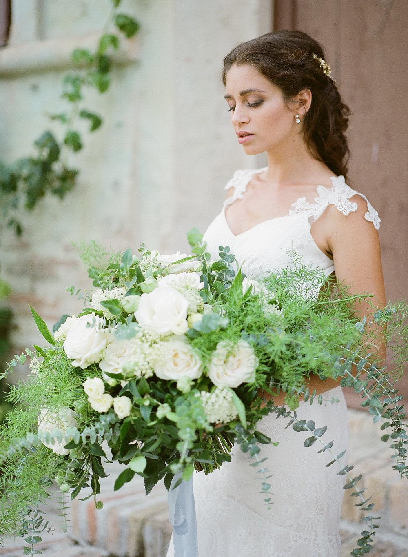 Classic Romantic Wedding Bouquet | Credit: Magnolia & Magpie Photography