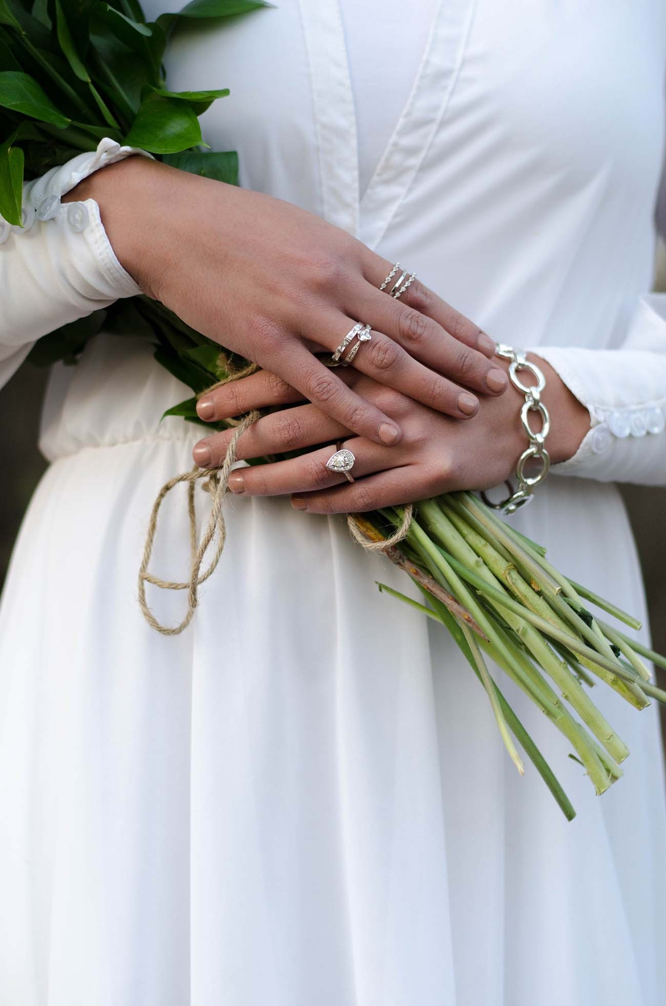 Boho Wedding Jewelry | Credit: MORE Than Just Photography
