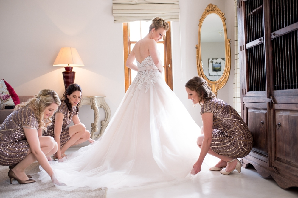 Bride Getting Ready | Credit: Cheryl McEwan