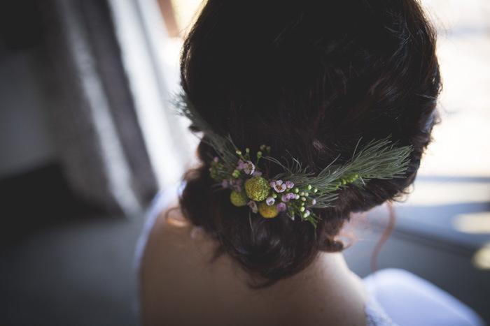 Fynbos Hair Decoration | Credit: Those Photos