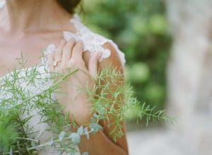 Susie Saltzman Diamond Engagement Ring | Credit: Magnolia & Magpie Photography