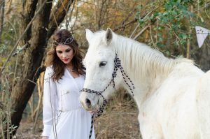 Bride with Horse | Credit: MORE Than Just Photography