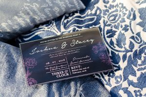 Denim Blue Wedding Inspiration | Credit: MORE Than Just Photography