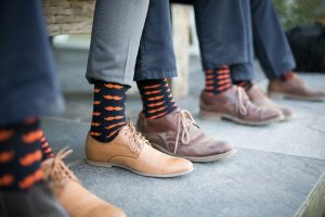 Groomsmen Socks | Credit: Karina Conradie