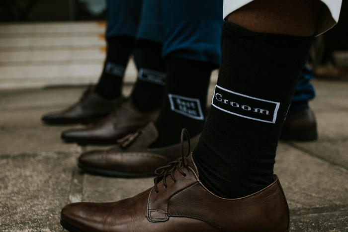 Groom and Groomsmen Socks | Credit: Thunder & Love