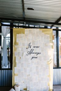 It Was Always You Ceremony Backdrop | Credit: Andries Combrink & Runaway Romance
