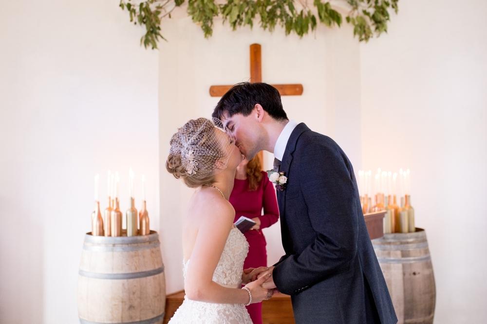 Vineyard Wedding Ceremony | Credit: Cheryl McEwan