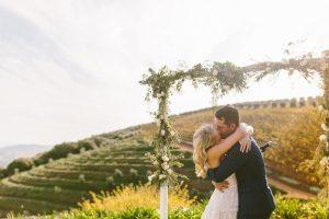 Vineyard Wedding Ceremony | Credit: Kikitography