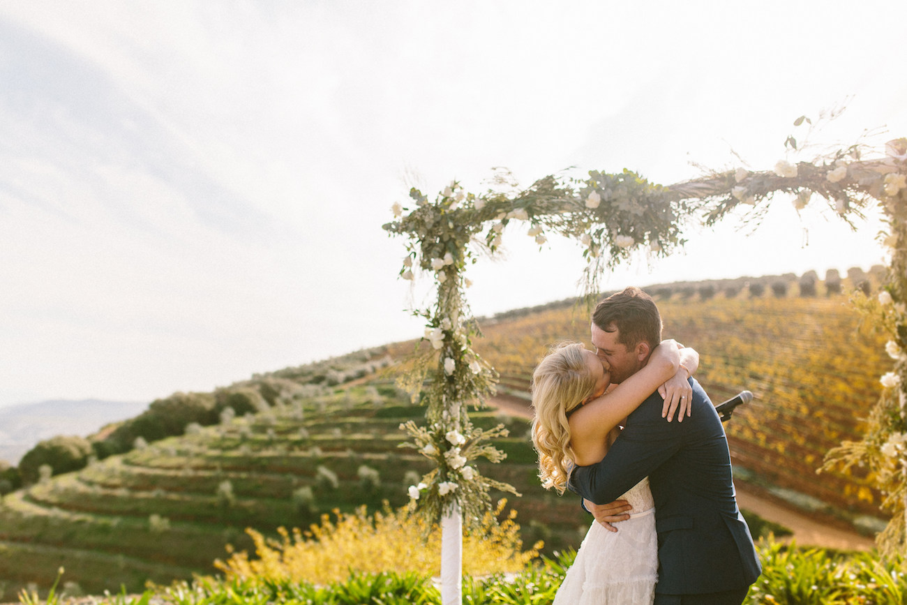 Vineyard Wedding Ceremony | Credit: Kikitography