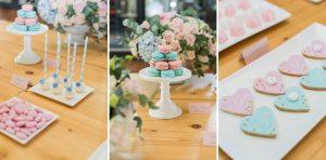 Pantone Serenity & Rose Quartz Wedding Inspiration | Credit: Jack & Jane Photography