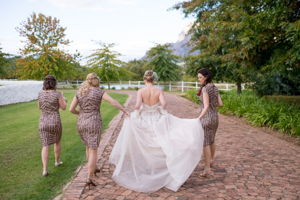 Sequin Bridesmaid Dresses | Credit: Cheryl McEwan