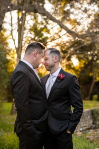 Colourful Glamorous Same Sex Wedding | Credit: Vizion Photography