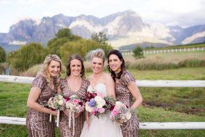 Rose Gold Bridesmaid Dresses | Credit: Cheryl McEwan