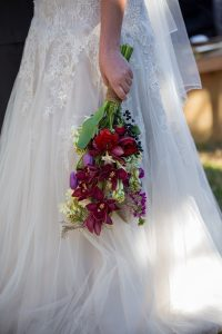 Jewel Tone Wedding Bouquet   Credit: Karina Conradie