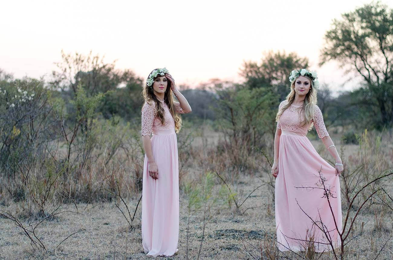 Bridesmaids in Blush | Credit: MORE Than Just Photography