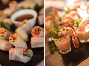 Canapes | Credit: Vizion Photography