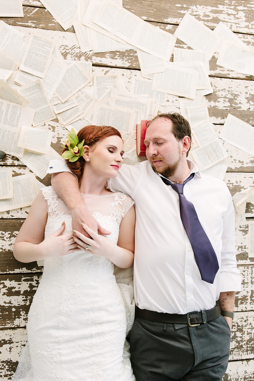 Literature Themed Wedding | Credit: Andries Combrink & Runaway Romance