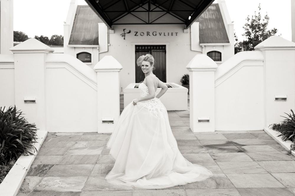 Zorgvliet Bride | Credit: Cheryl McEwan