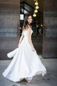 Janita Toerienc Wedding Dress with Full Skirt | Credit: Jack & Jane Photography