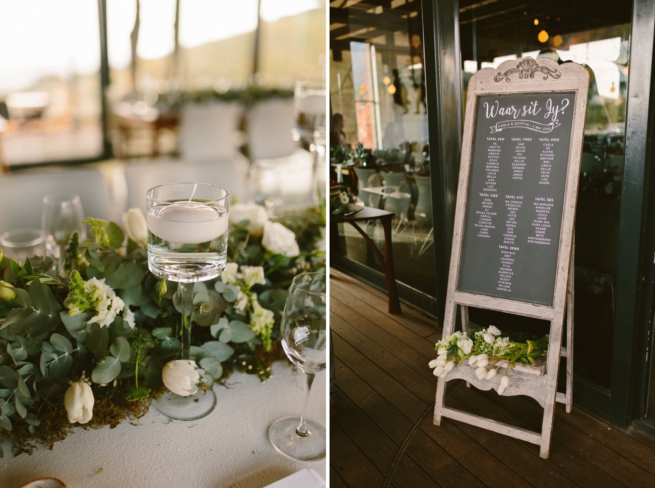 Elegant Minimalist Wedding | Credit: Kikitography