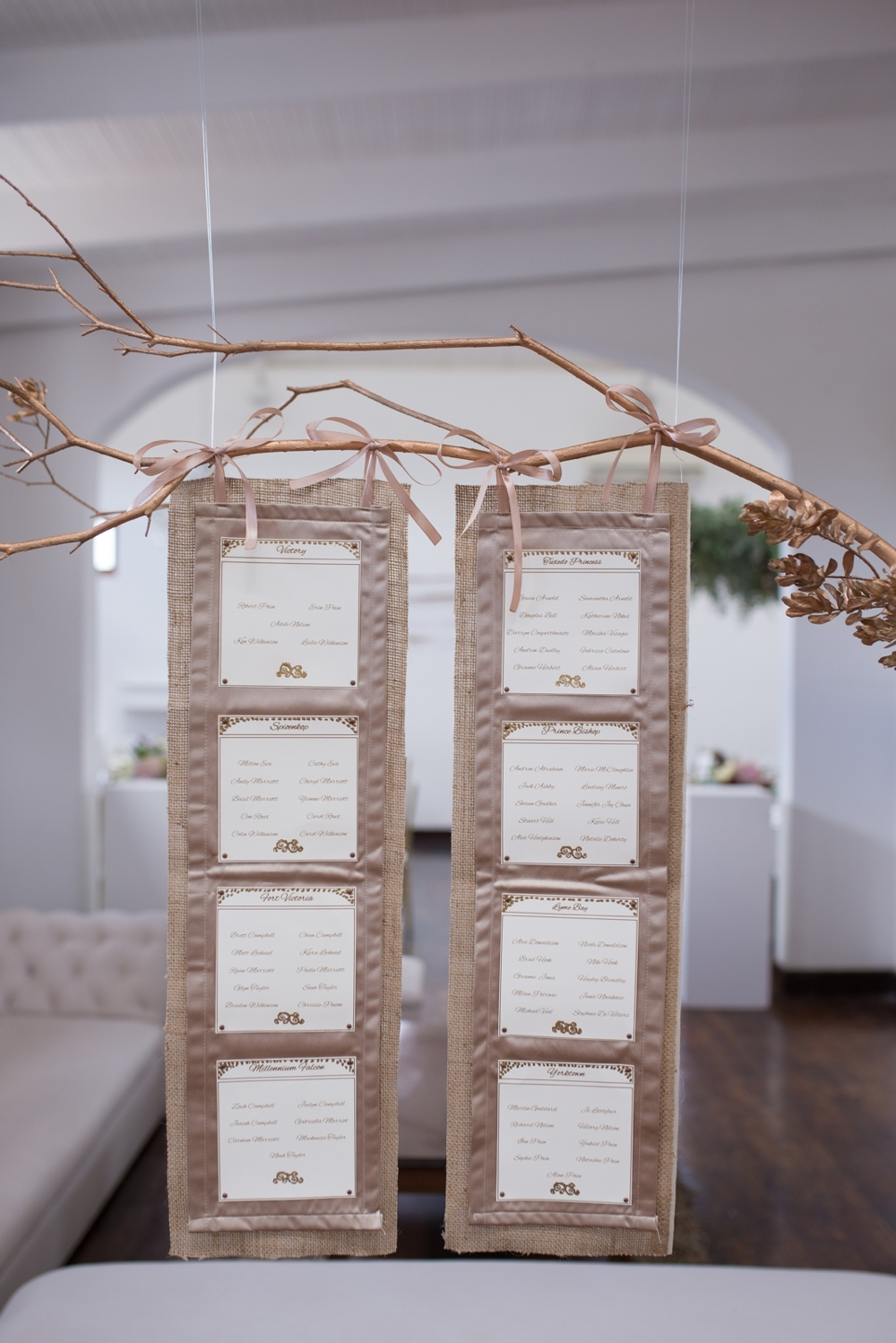 Elegant Table Plan | Credit: Cheryl McEwan