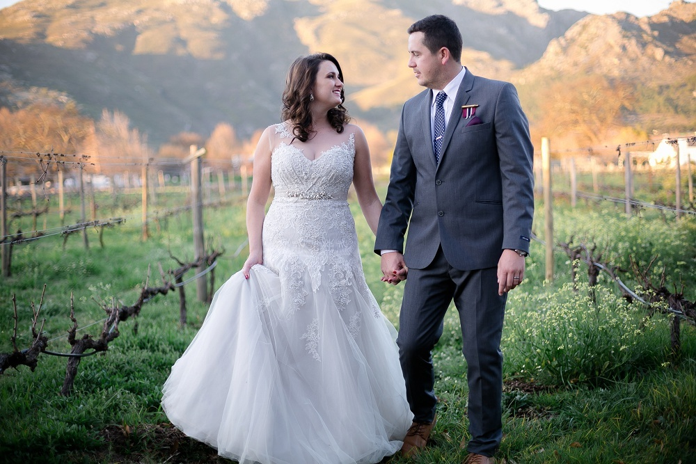 Vineyard Wedding | Credit: Karina Conradie