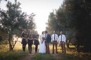 Autumn Wedding Party | Credit: Those Photos