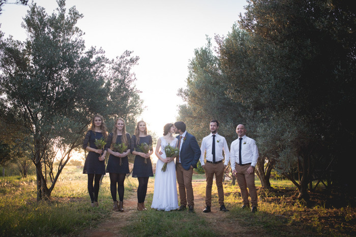 Autumn Wedding Party | Credit: Those Photos