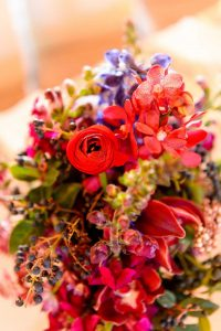 Colorful Centerpiece | Credit: Vizion Photography