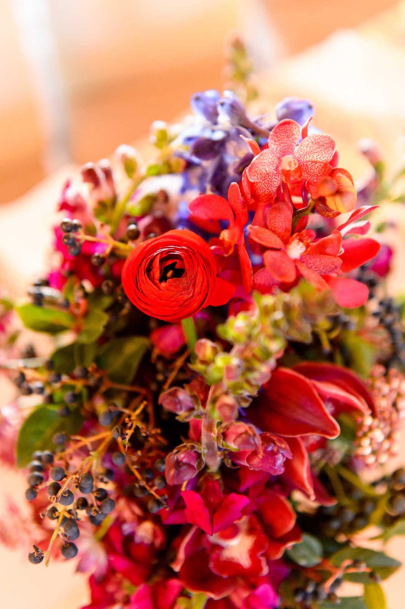 Colorful Centerpiece   Credit: Vizion Photography