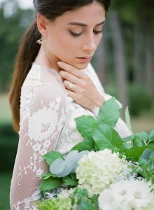 Lace Sleeve Wedding Dress | Credit: Magnolia & Magpie Photography