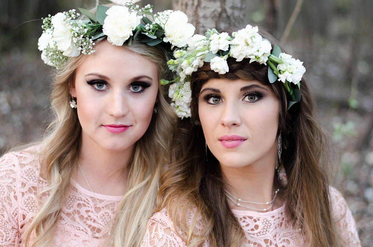 Bridesmaids in Floral Crowns | Credit: MORE Than Just Photography