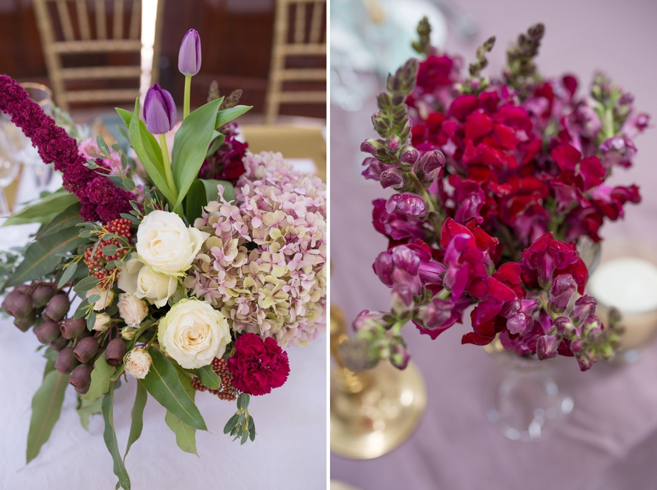 Berry Tone Florals | Credit: Cheryl McEwan