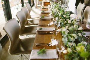 Greenery Table Decor | Credit: Kikitography