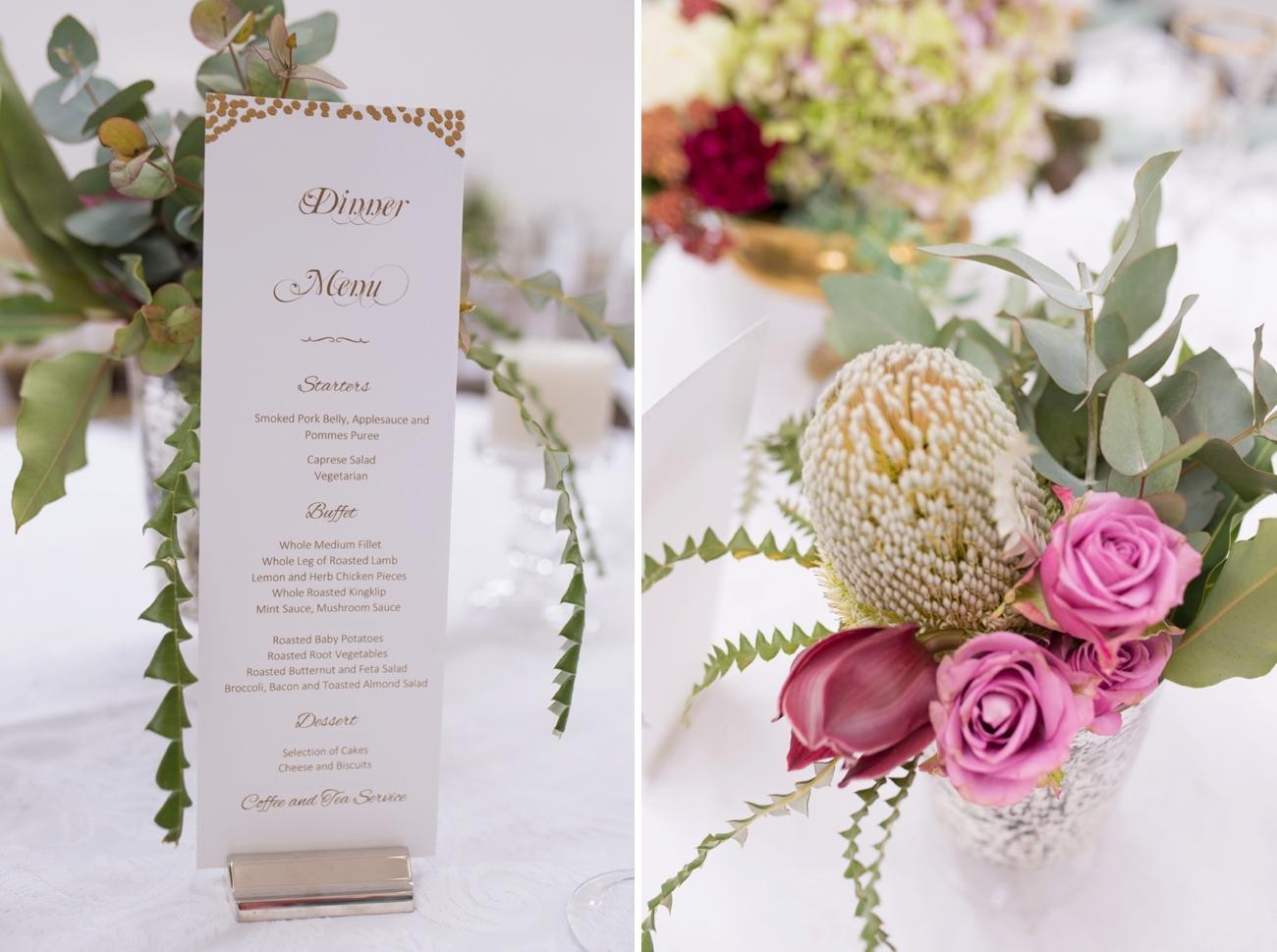 Floral & Metallic Wedding | Credit: Cheryl McEwan