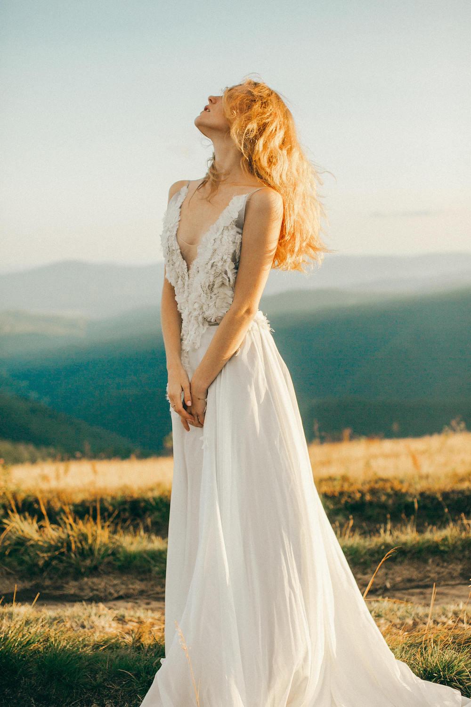 Whimsical Ethereal Wedding Dress