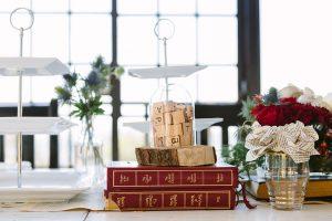 Scrabble Centerpiece | Credit: Andries Combrink & Runaway Romance