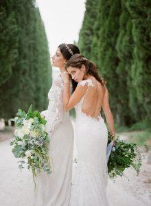Claire Pettibone Wedding Dresses   Credit: Magnolia & Magpie Photography
