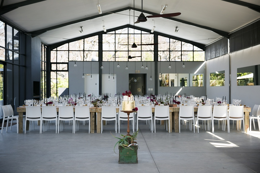 The Conservatory Franschhoek Wedding Reception Decor | Credit: Karina Conradie