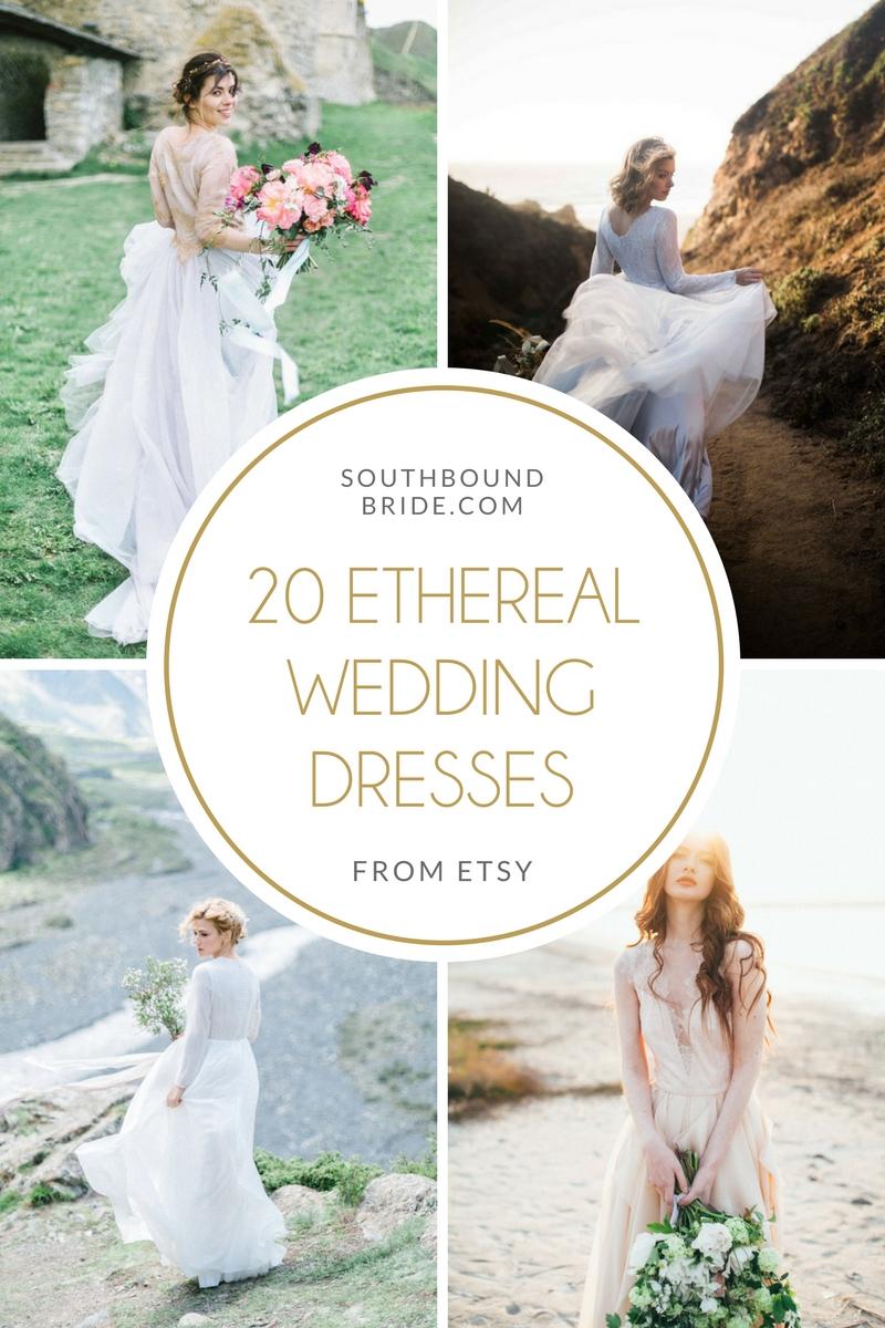 20 Ethereal Wedding Dresses | SouthBound Bride