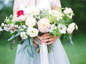 Elegant Bridal Bouquet | Credit: Courtney Leigh