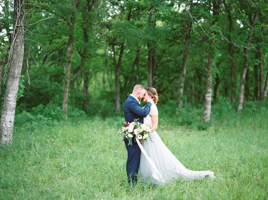 Bride and Groom Portrait | Credit: Courtney Leigh