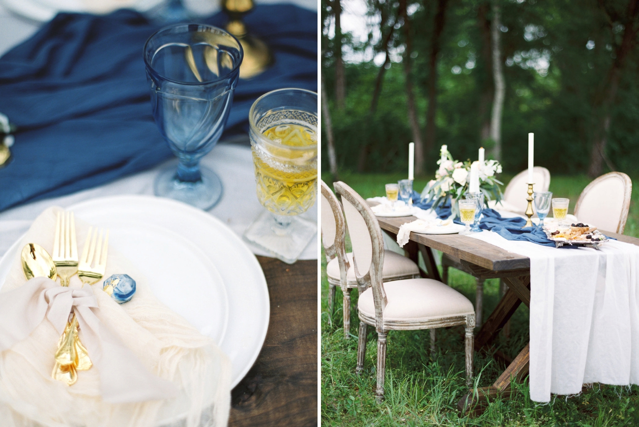Forest Wedding Table | Credit: Courtney Leigh