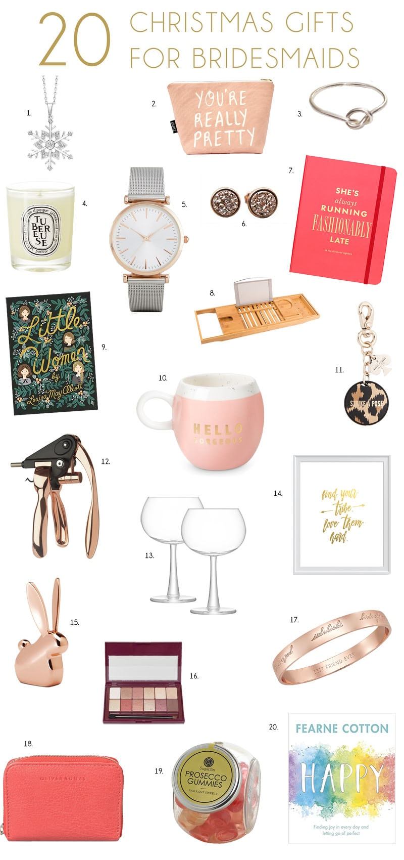 BFF Christmas Gifts Under $50