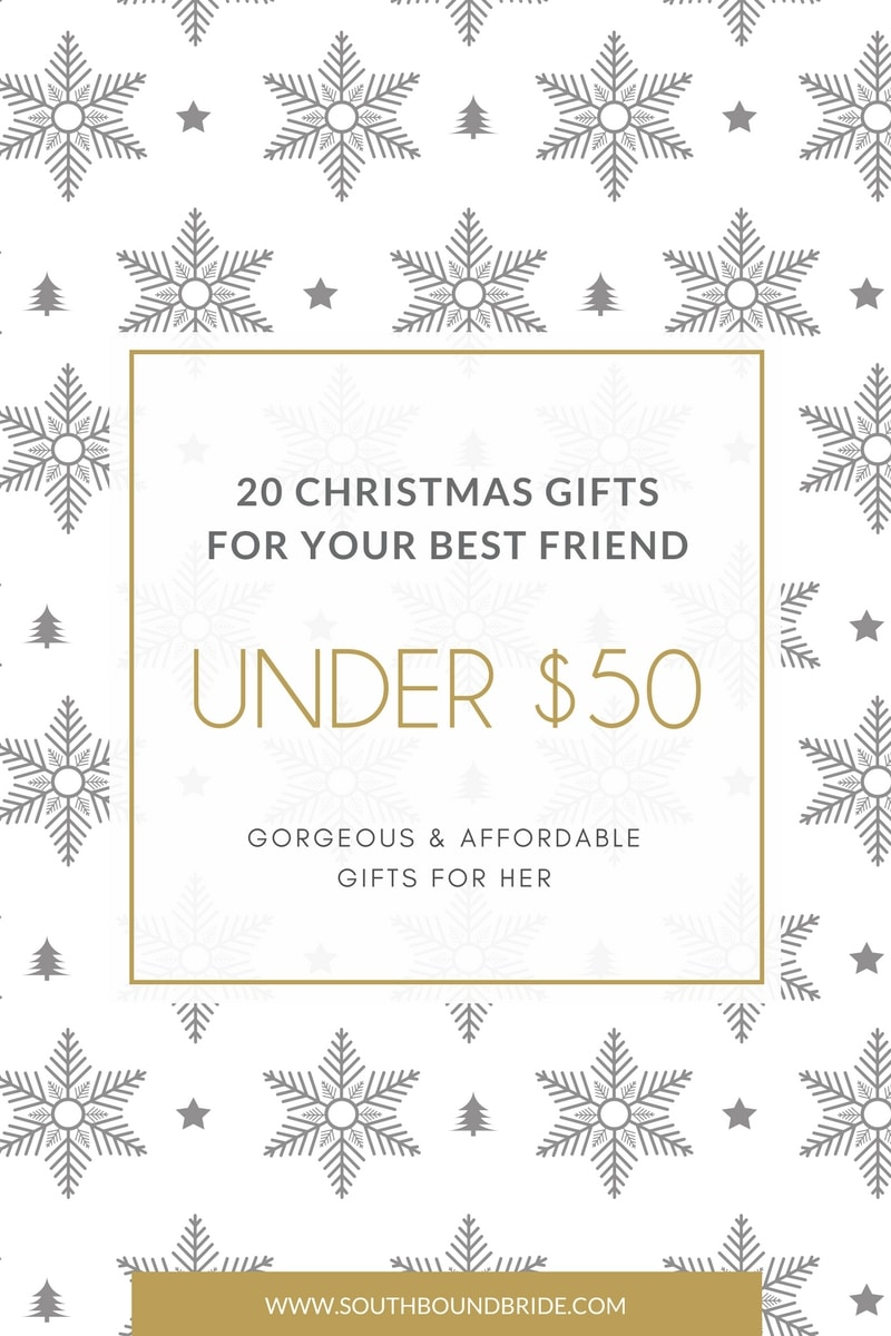Gifts for Her Under £50 | SouthBound Bride
