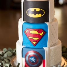 Elegant Superhero Wedding at Silver Sixpence by Daniel West