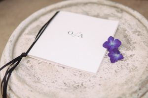 Wedding Programme | Credit: Dust & Dreams Photography