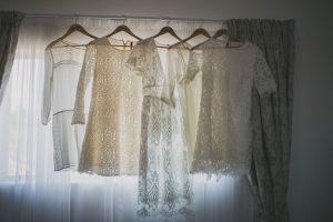 Lace Bridesmaid Dresses | Credit: Vicky Bergallo